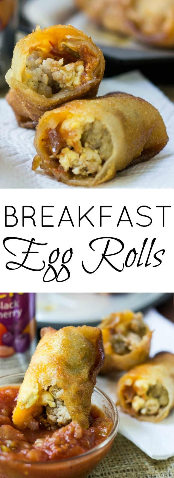 Breakfast Egg Roll Pinterest