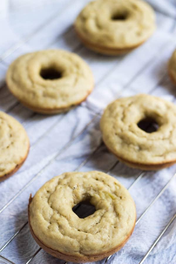 Banana Caramel Macchiato Donuts