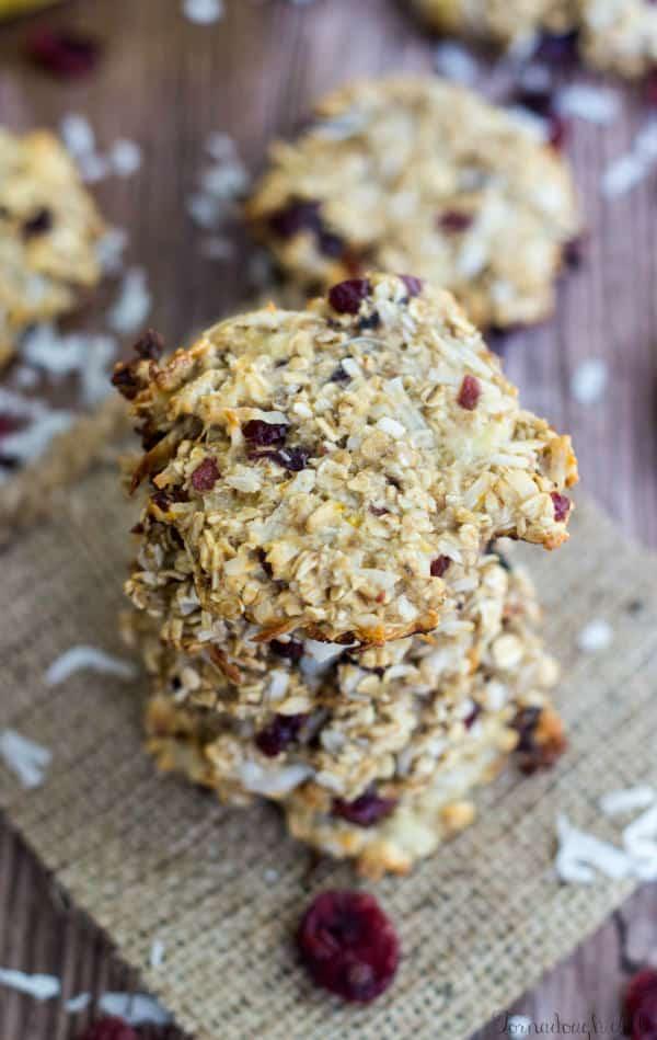 Cranana Coconut Cookies
