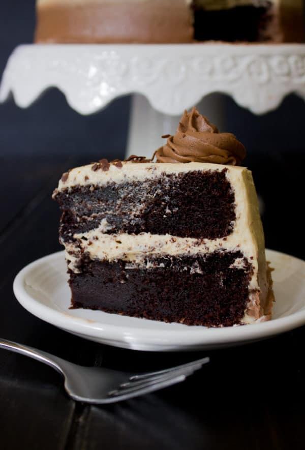Irish Coffee Chocolate Cake