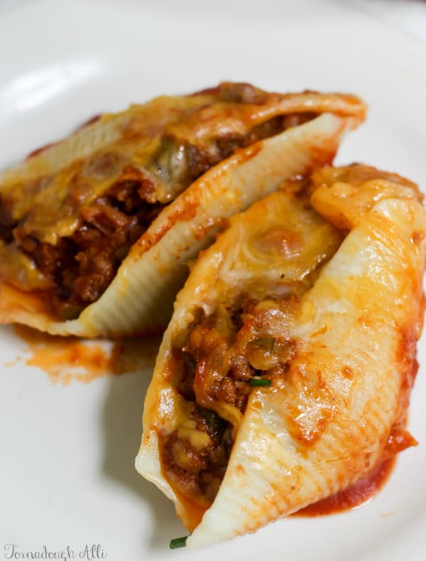 Sloppy Joe Stuffed Shells