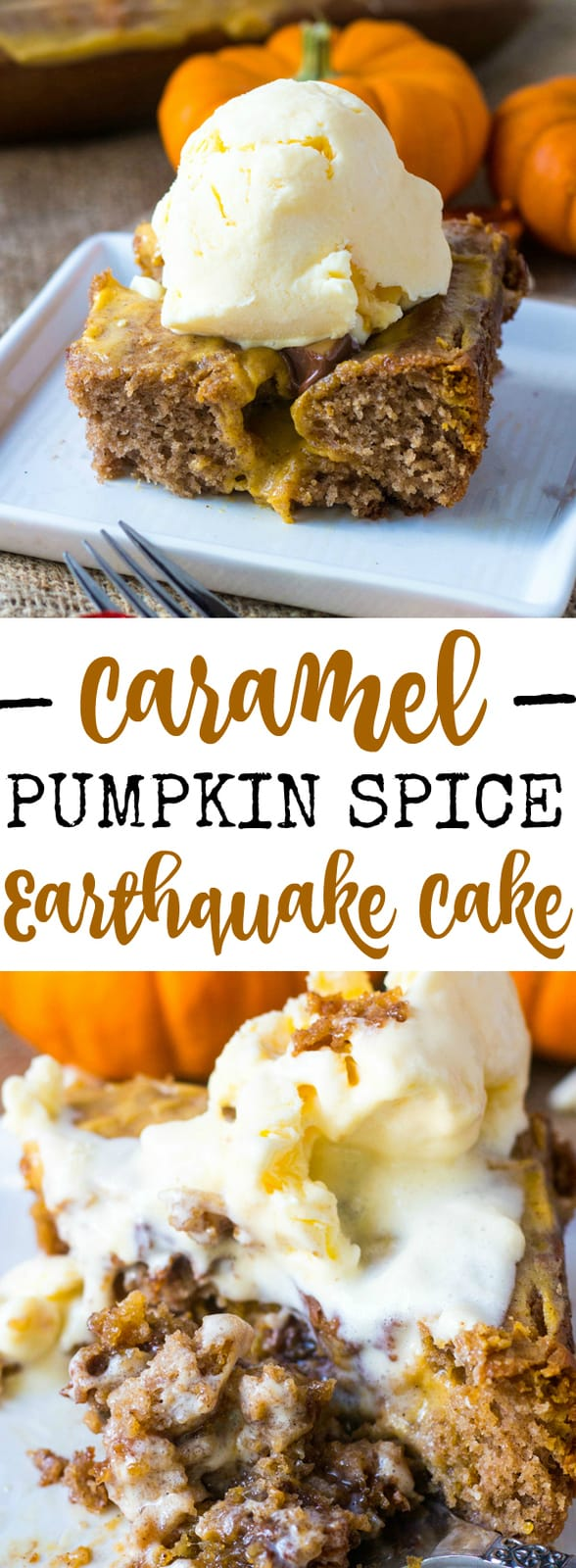 Caramel Pumpkin Spice Earthquake Quake