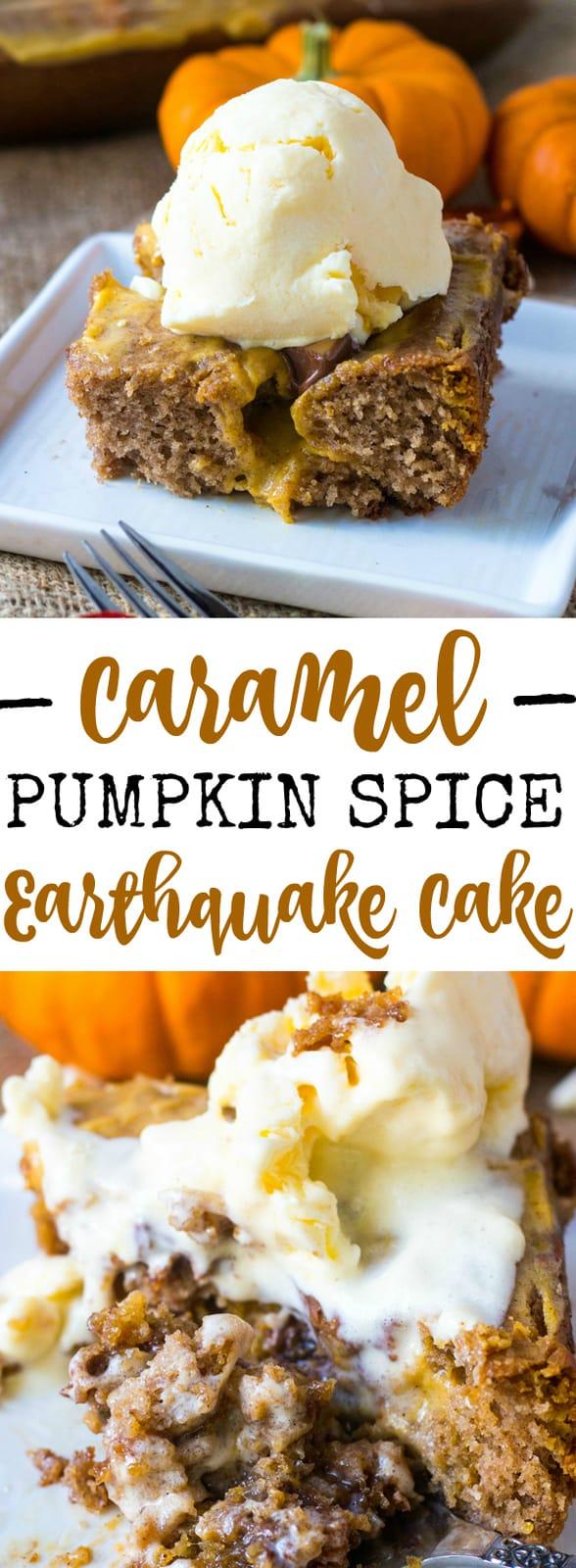 Caramel Pumpkin Spice Earthquake Quake
