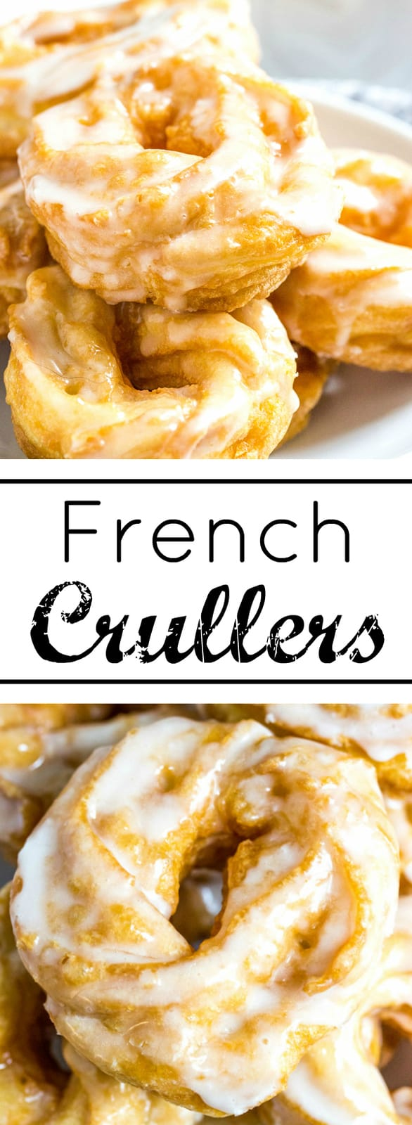 Switch up your morning routine with these delicious French Crullers. A puffy and moist pastry is dipped in a honey sugar glaze.