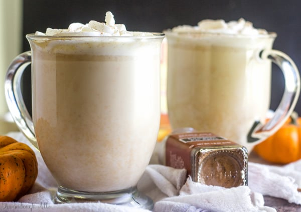 Slow Cooker Pumpkin White Hot Chocolate