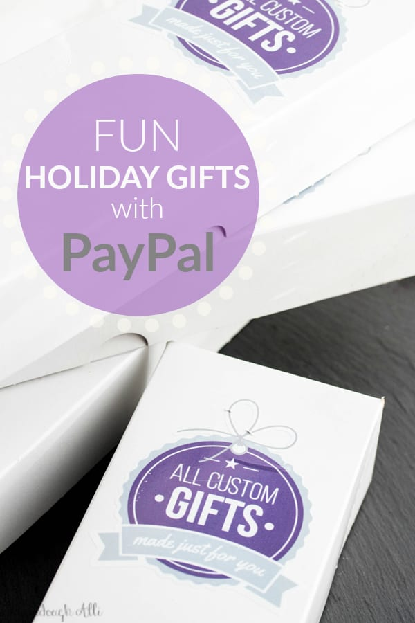 Fun Holiday Gifts with PayPal