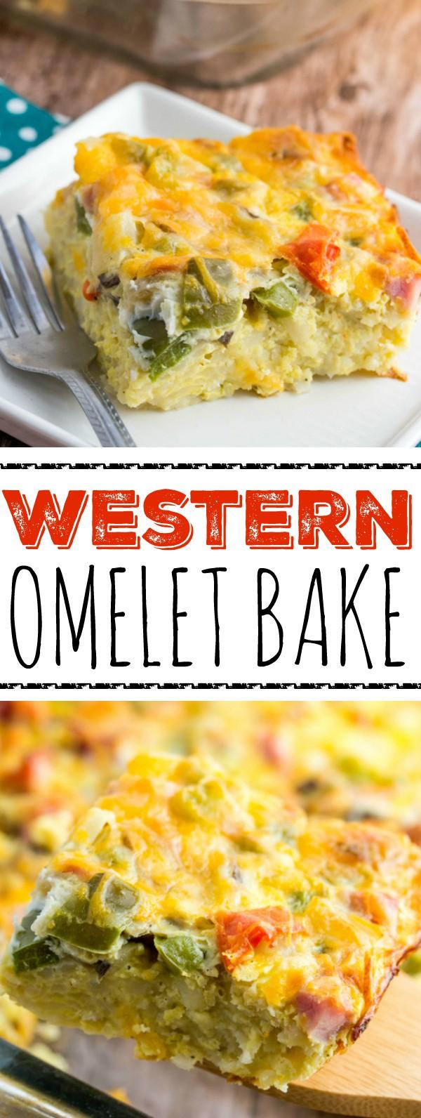 Western Omelet Bake