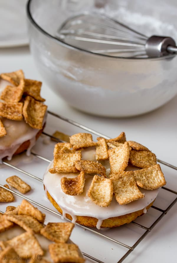 Cinnamon Toast Crunch Donuts