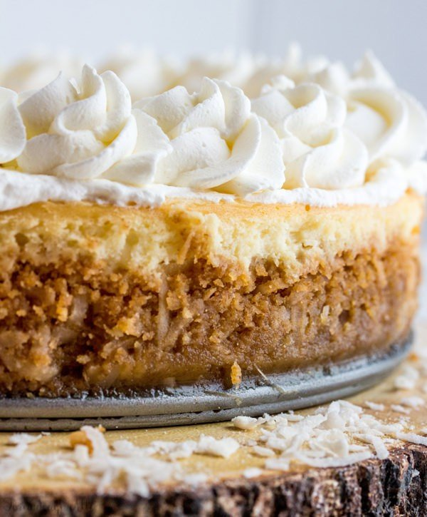 Coconut Cream Cheesecake
