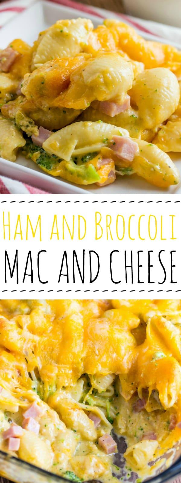 Ham and Broccoli Mac and Cheese