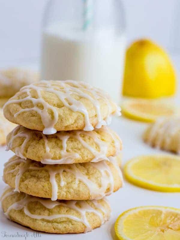 Iced Lemon Sugar Cookies