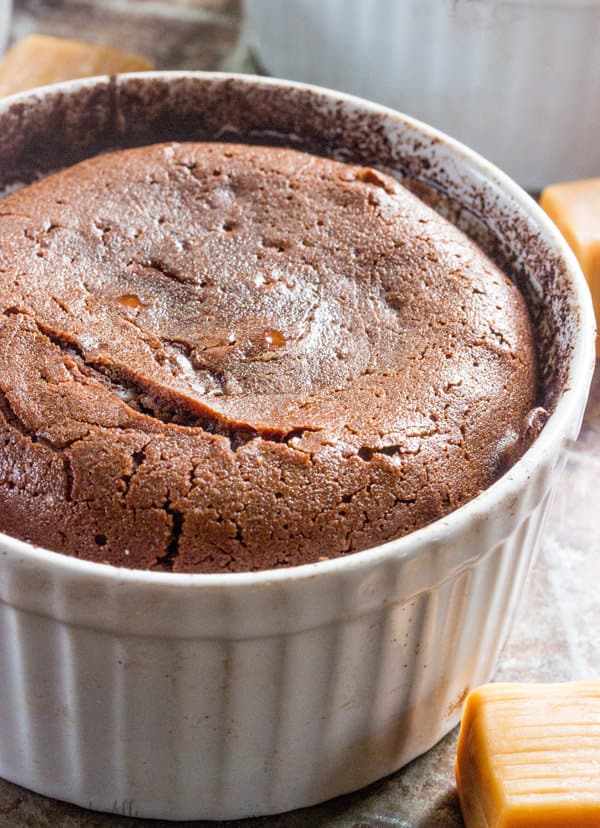Chocolate Caramel Lava Cake