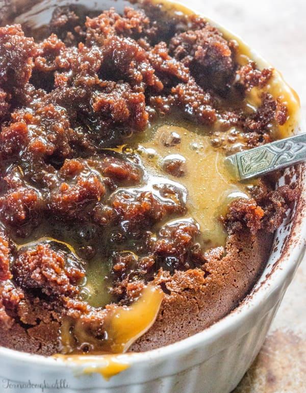 Chocolate Caramel Lava Cakes
