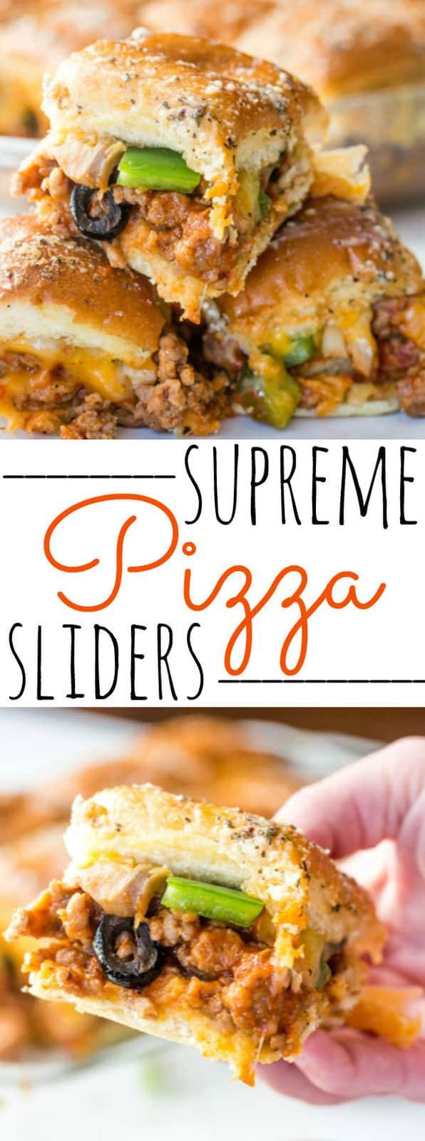 Supreme Pizza Sliders
