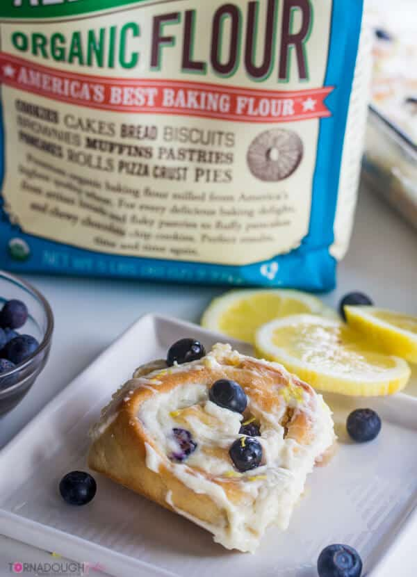Blueberry Lemon Sweet Rolls