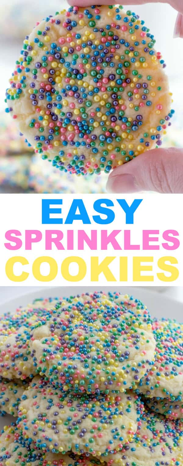 Easy Sprinkles Cookies