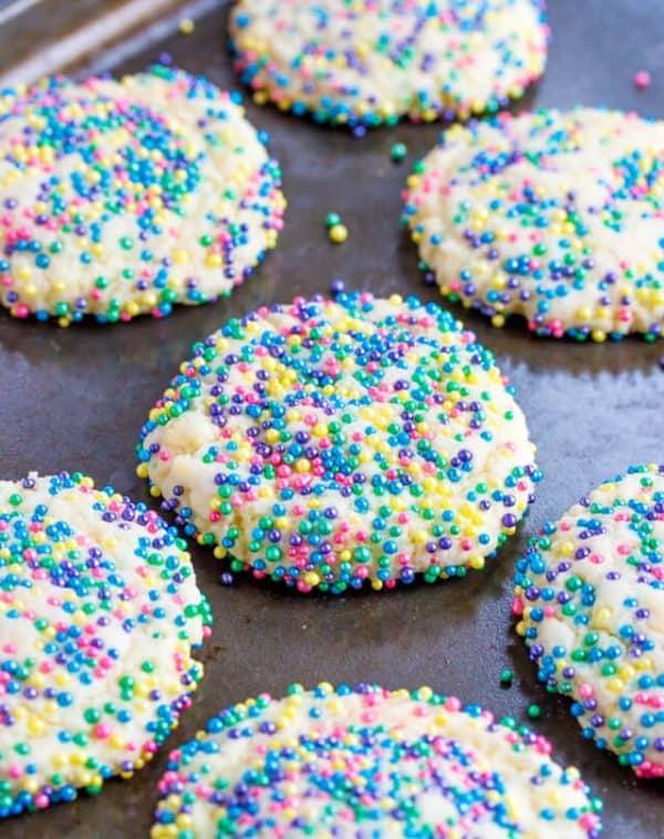 Easy Sprinkles Cookies