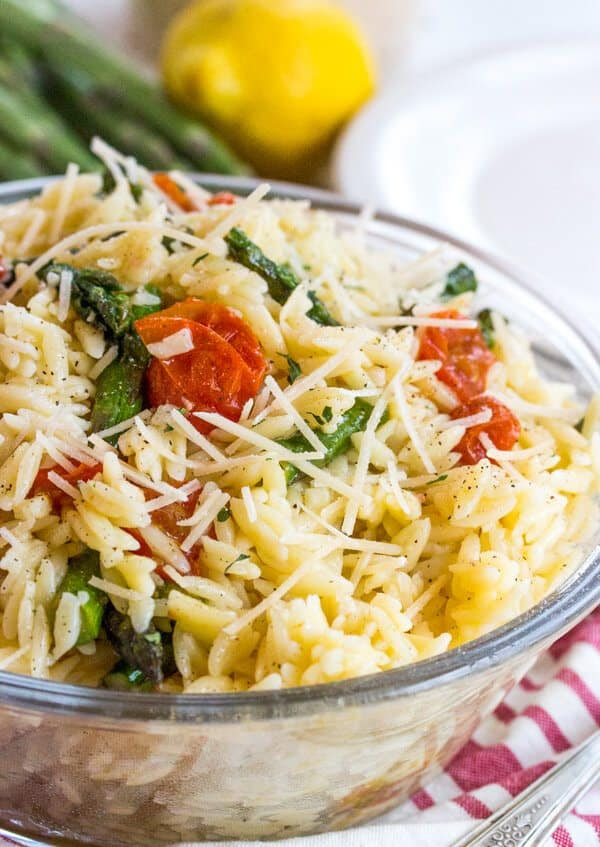 Lemon Butter Orzo