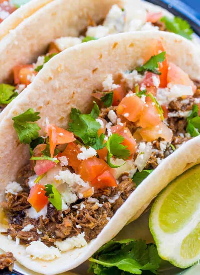 Street Tacos close up