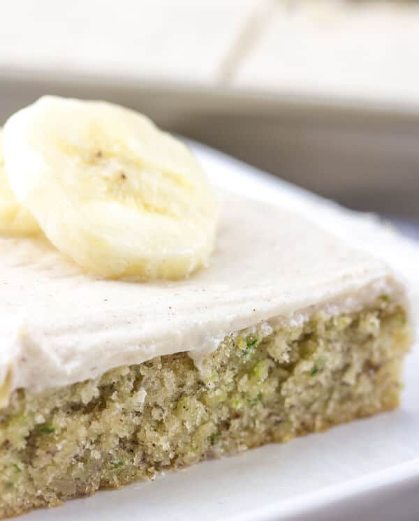 Banana Sheet Cake With Cream Cheese Frosting Recipe
