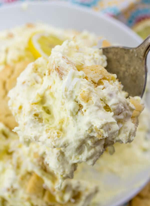 Lemon Cookie Salad
