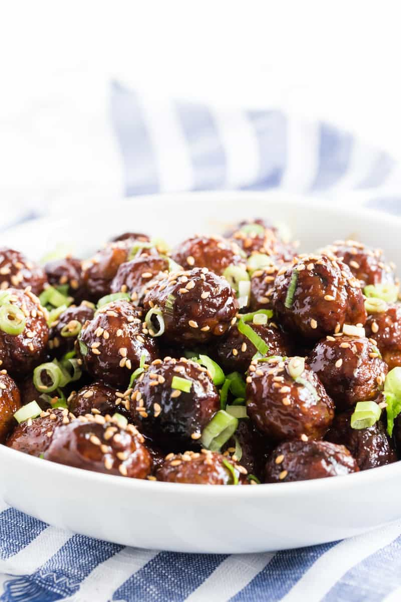 Asian Crockpot Meatballs Tornadough Alli