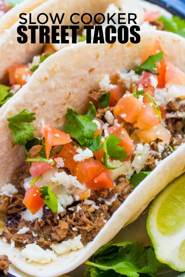 street tacos Pinterest image