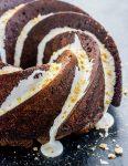 S'mores Bundt Cake