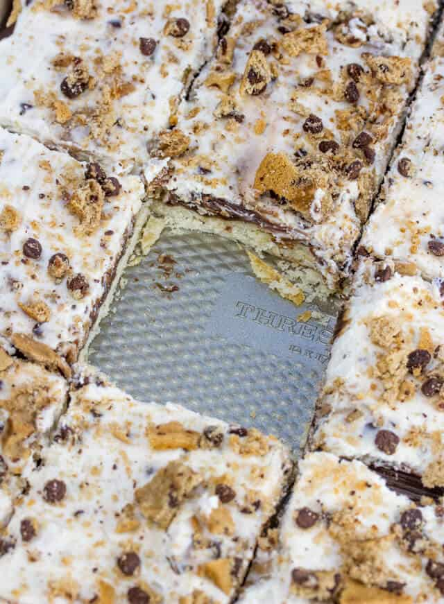 Chocolate Chip Cookie Slab Pie