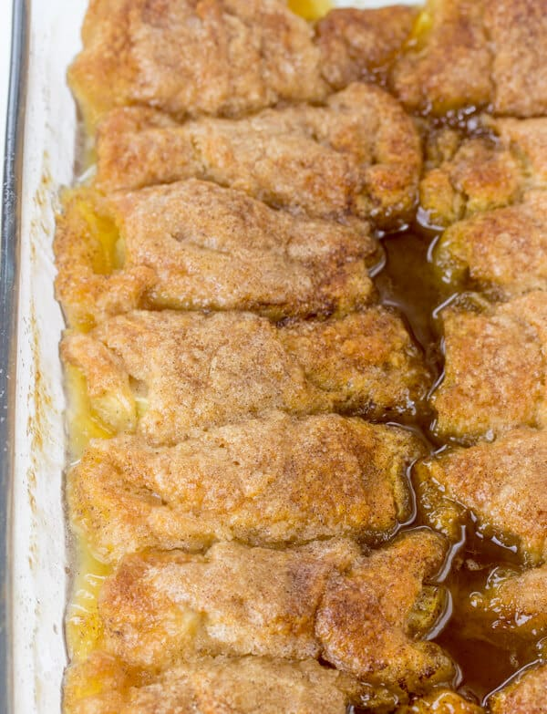 how to make quick apple dumplings