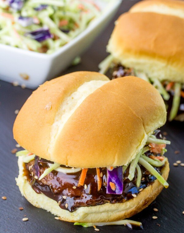 General Tso Chicken Sandwiches