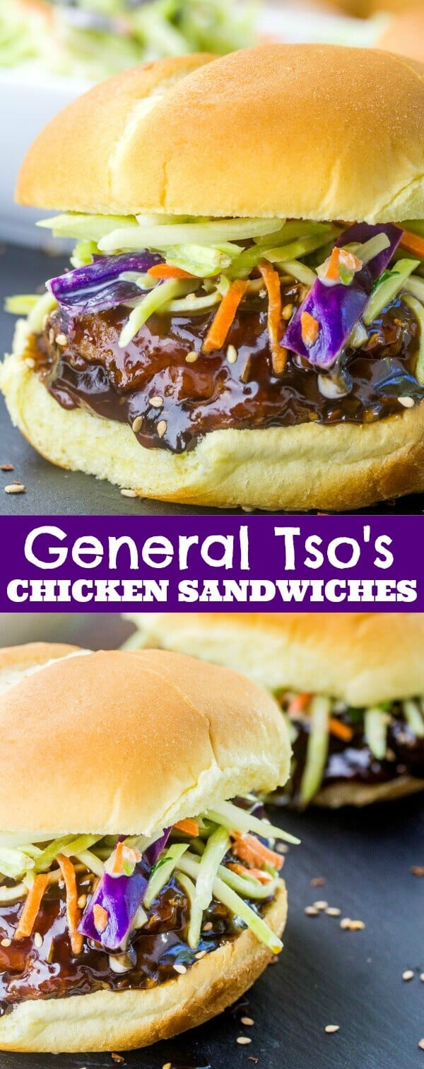 General Tso's Chicken Sandwiches