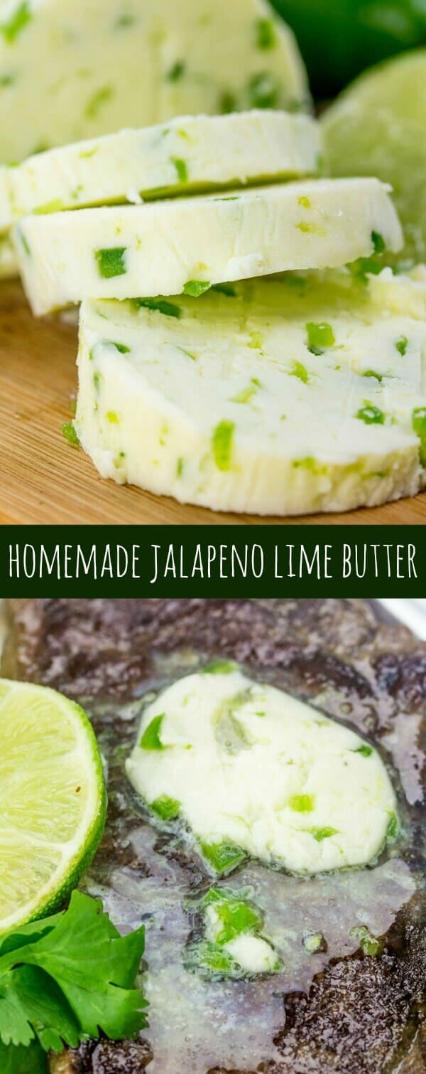 Homemade Jalapeno Lime Butter