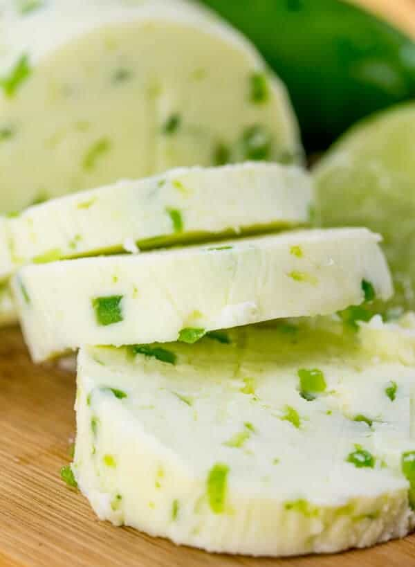 Homemade Jalapeno Lime Butter