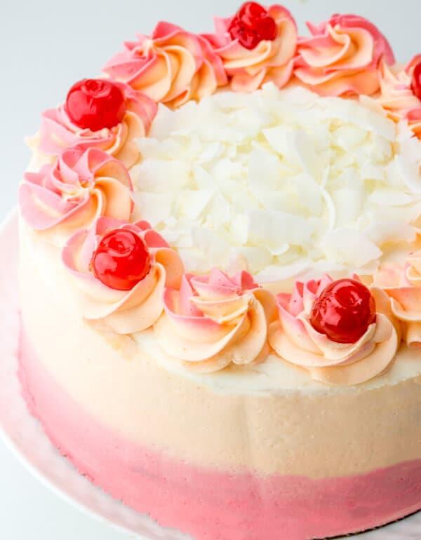 Malibu Sunset Layer Cake