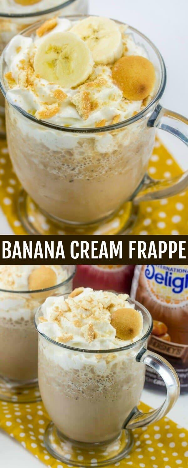 Banana Cream Frappe