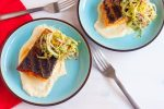 Grilling is a summer staple activity. Cooking this easy grilled salmon dish is simple and delicious, especially with a silky smooth corn puree and a crisp, but light, fennel salad.