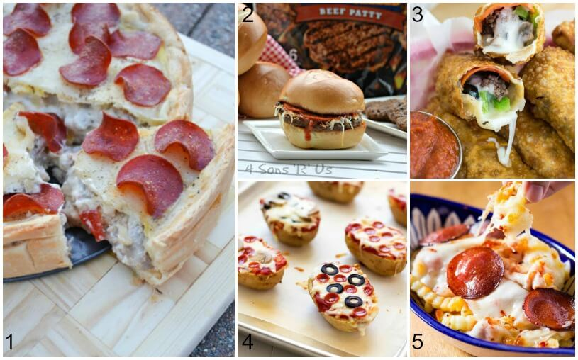 15 Ways to Eat Pizza that Aren't Pizza