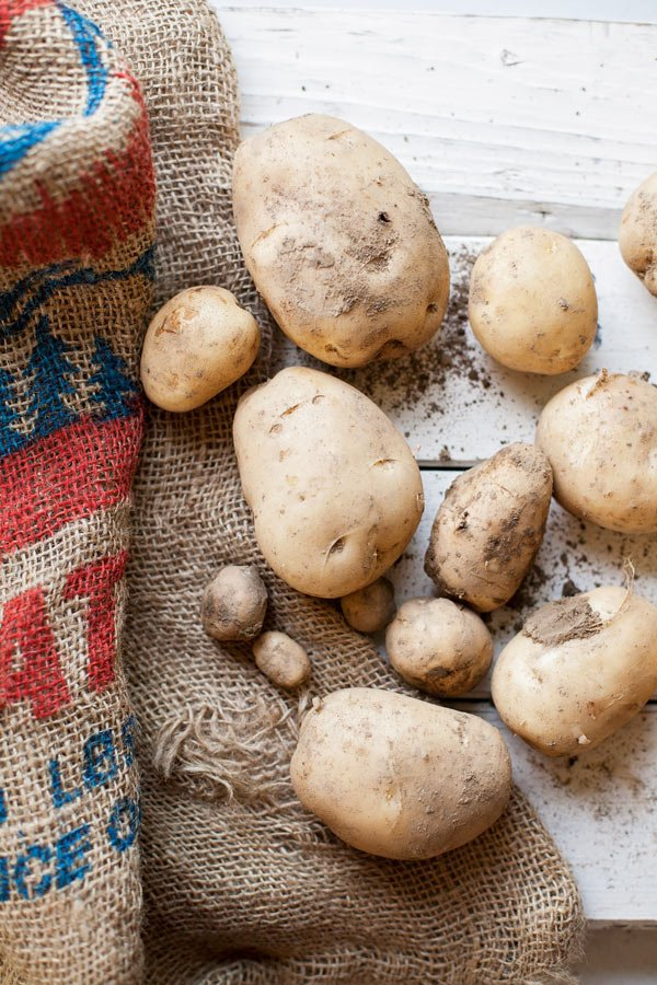 A simple side made with seasonal ingredients, butter parsley new potatoes put the freshness of summer to good use.