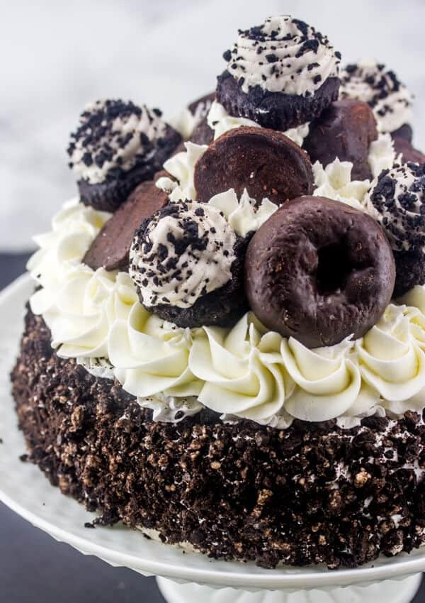 Oreo Ice Cream Freak Cake