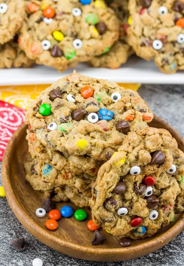 the Mega List of Easy Halloween Cookies - It's Always Autumn   Fun Halloween Monster Cookies