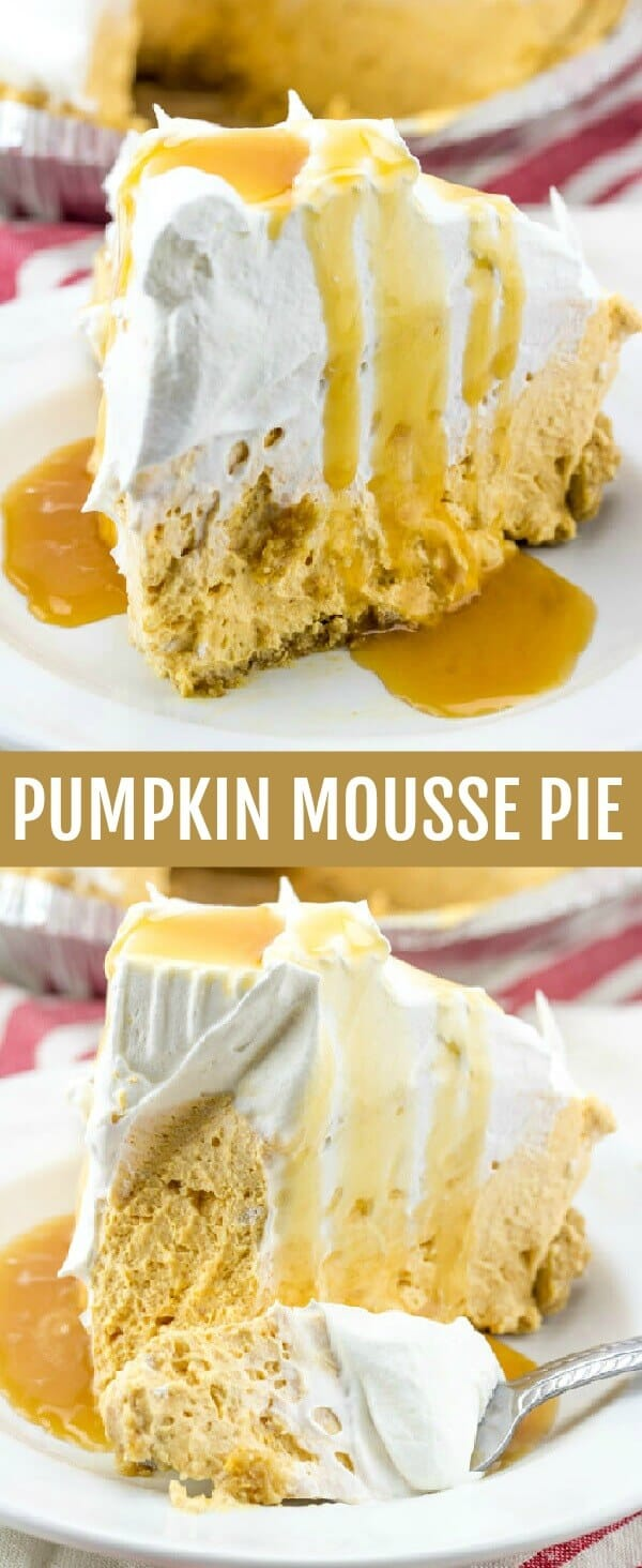 Pumpkin Mousse Pie {A Light Airy Flavorful Pumpkin Pie} pumpkin/pie/mousse Creamy, silky, light and delicious this Pumpkin Mousse Pie is a fun alternative to the classic pumpkin pie that everyone will enjoy!