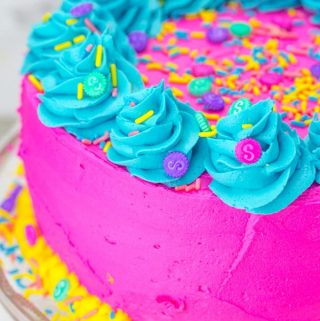 Shopkins Layer Cake