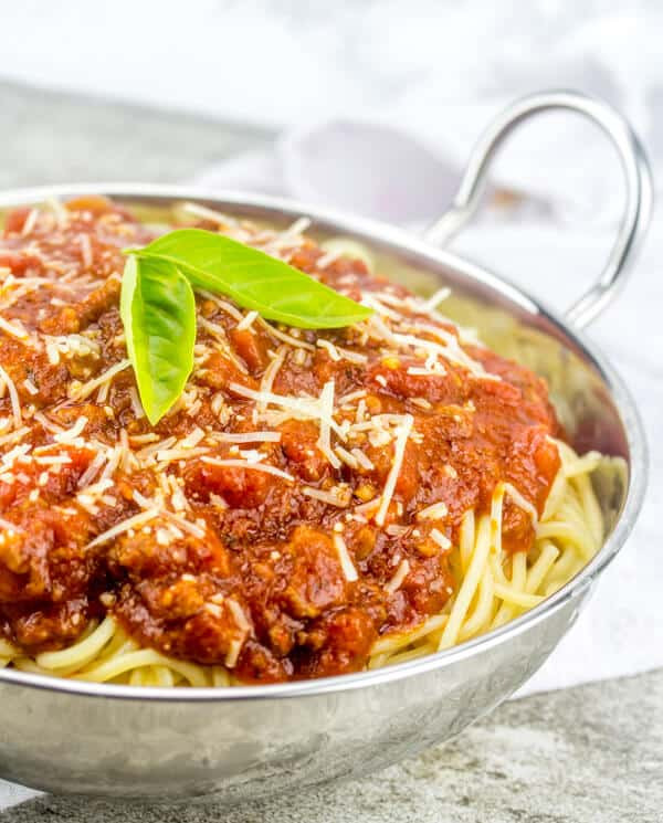 `Easy Homemade Spaghetti Sauce