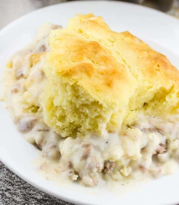 Biscuits and Gravy Skillet