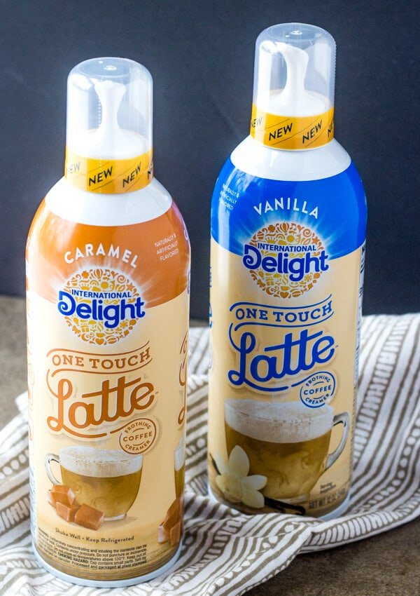 Caramel Gingerbread Lattes