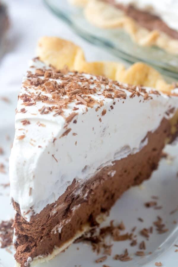 Easy French Silk Pie
