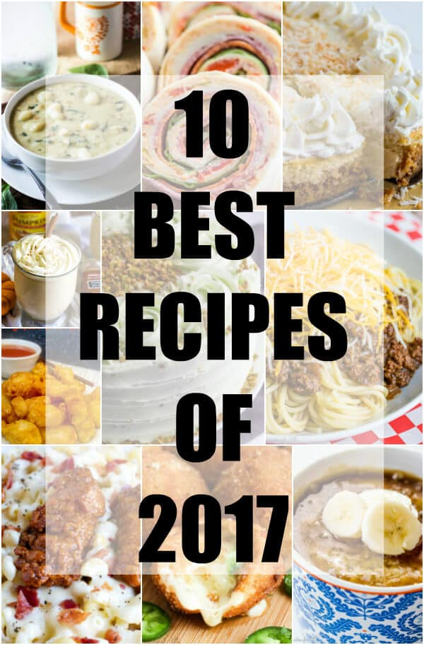 10 Best Recipes of 2017