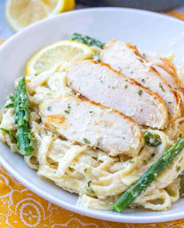 Creamy Lemon Chicken Pasta Recipe