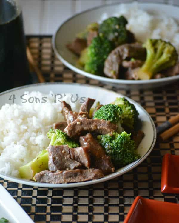 Chinese Beef and Broccoli Slow Cooker